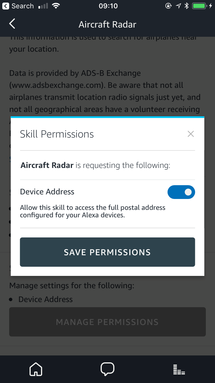 Aircraft Radar skill for Amazon Alexa